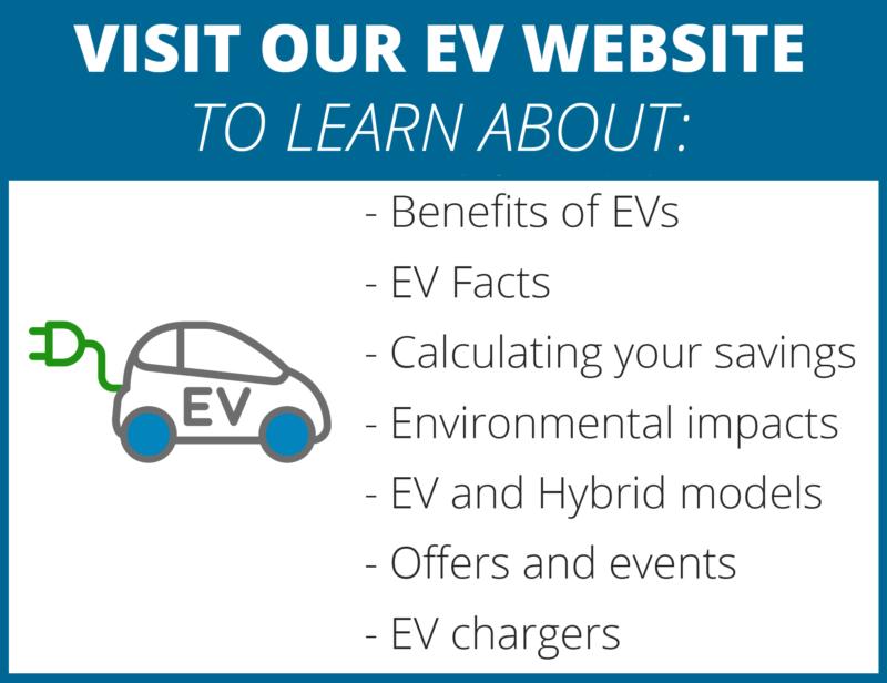 Visit our website for EV facts