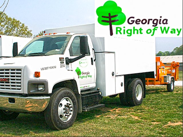 Georgia Right of Way truck
