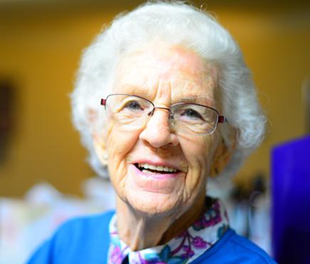 Elder adult woman