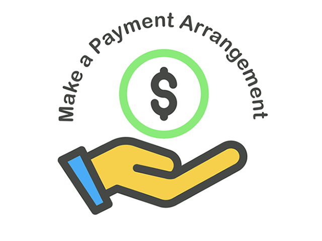 make a payment extension