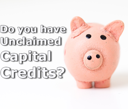 Piggybank asking do you have unclaimed capital credits